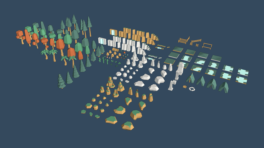 Kenney · Nature Pack Extended
